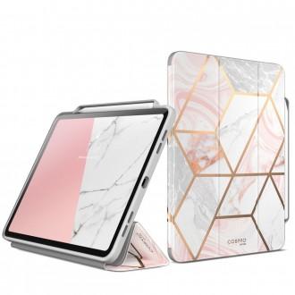 Planšetės dėklas su stiklu SUPCASE COSMO IPAD PRO 12.9 2020 / 2021 MARBLE