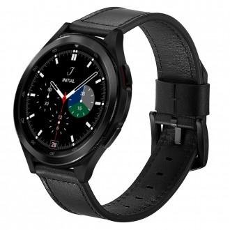 """Juoda apyrankė laikrodžiui Samsung Galaxy Watch 4 (40 / 42 / 44 / 46mm) """"Tech-Protect Herms"""""""