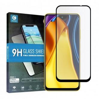 Apsauginis grūdintas stiklas juodais kraštais MOCOLO TG+FULL GLUE  telefonui XIAOMI POCO M3 PRO / Redmi Note10 5G