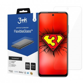 "LCD apsauginė plėvelė ""3MK Flexible Glass"" Xiaomi Poco M3 Pro/ Redmi Note 10 5G telefonui"