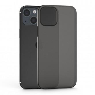 Itin plonas (0.4 mm), dalinai permatomas, dūmų pilkumos dėklas TECH-PROTECT ULTRASLIM telefonui iPhone 13 mini