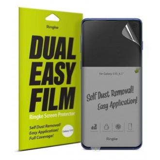 """Apsauginė ekrano plėvelė """"Ringke Dual Easy"""" Samsung Galaxy G973 S10 telefonui"""