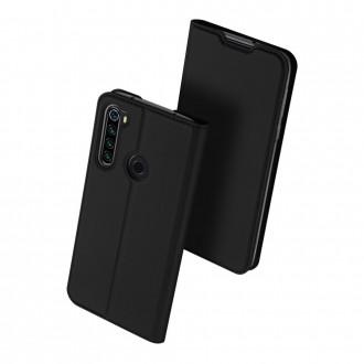 """Juodas atverčiamas dėklas Xiaomi Redmi Note 8T telefonui """"Dux Ducis Skin"""""""