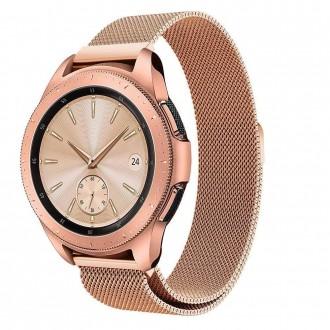 """Auksinė apyrankė laikrodžiui Samsung Galaxy Watch 3 (41MM) """"Tech-Protect Milaneseband"""""""