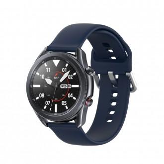 """Mėlyna apyrankė laikrodžiui Samsung Watch 3 (45MM) """"Tech-Protect Iconband"""""""