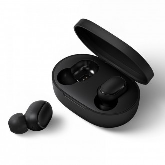 """Juodos bevielės Xiaomi Mi True Wireless airdots airphone """"2"""" ausinės"""