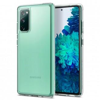 "Skaidrus dėklas Samsung Galaxy S20 FE telefonui ""Spigen Ultra Hybrid"""