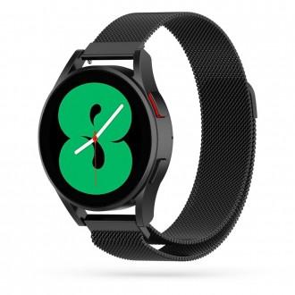 """Juoda apyrankė laikrodžiui Galaxy Watch 4 (40/42/44/46 mm) """"Tech-Protect Milaneseband"""""""