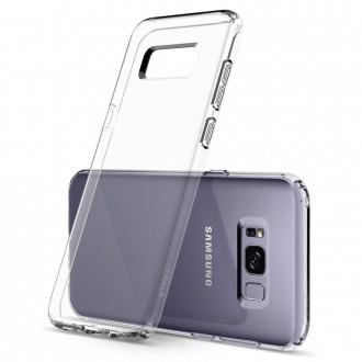 Skaidrus silikoninis dėklas telefonui Samsung Galaxy S8 Plus