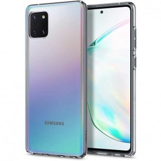 "Skaidrus dėklas Samsung Galaxy Note 10 Lite telefonui ""Spigen Liquid Crystal"""