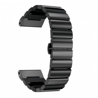 """Juoda apyrankė laikrodžiui Garmin Fenix 3/5X/3HR/5X Plus/6X/6X Pro """"Tech-Protect Linkband"""""""