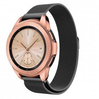 """Juoda apyrankė laikrodžiui Samsung Galaxy Watch 3 (41MM) """"Tech-Protect Milaneseband"""""""