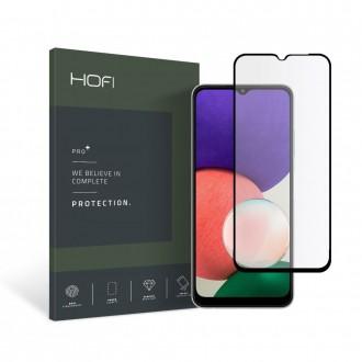 Apsauginis grūdintas stiklas juodais kraštais HOFI GLASS PRO+  telefonui Samsung A22 5G