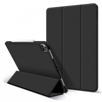 """Juodas atverčiamas dėklas Ipad Pro 12.9 2021 """"Tech-Protect SC Pen"""""""