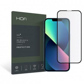 Apsauginis, juodais krašteliais grūdintas stiklas HOFI HYBRID PRO+  telefonui iPhone 13 / 13 Pro