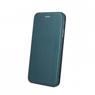 Atverčiamas Dėklas Book Elegance Samsung A525 A52 / A526 A52 5G tamsiai žalias