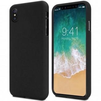 """Juodas silikoninis dėklas """"Jelly Case'' telefonui iPhone 13 Pro Max"""