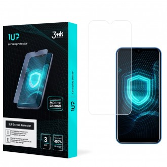 LCD apsauginis stikliukas juodais krašteliais 3MK 1UP Apple iPhone 13 mini (3 vnt.)