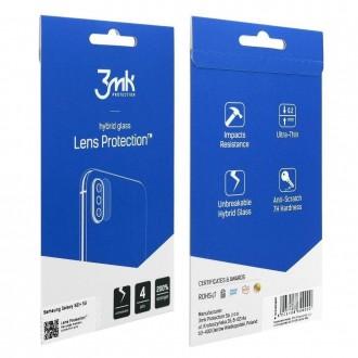 """LCD apsauginė plėvelė kamerai """"3MK Hybrid Glass Lens"""" Apple iPhone 13 mini"""