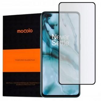 """Juodas apsauginis grūdintas """"Mocolo"""" stiklas OnePlus Nord telefonui"""