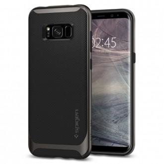 "Pilkas dėklas Samsung Galaxy S8 telefonui ""Spigen Neo Hybrid"""