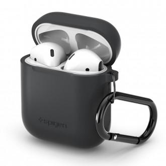 """Pilkas dėklas Apple Airpods  """"SPIGEN """""""
