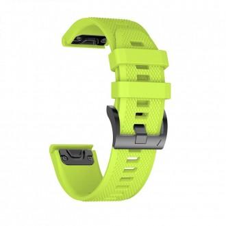 "Žalia apyrankė laikrodžiui Garmin Fenix 3/5X/3HR/5X Plus/6X/6X Pro ""Tech-Protect Smooth"""