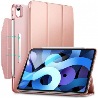 """Rausvas atverčiamas dėklas iPad Air 4 2020 """"Esr Ascen Trifold"""""""