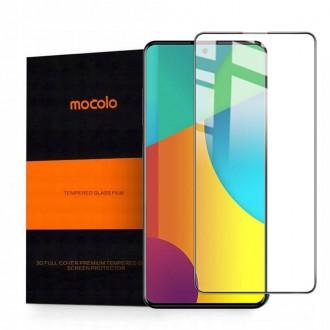Apsauginis grūdintas stiklas juodais kraštais MOCOLO TG+FULL GLUE  telefonui Samsung A51