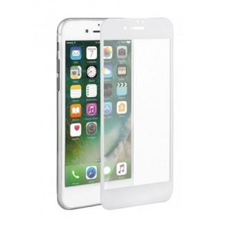 3D lenktas baltas apsauginis grūdintas stiklas Apple iPhone 7 Plus / 8 Plus telefonui