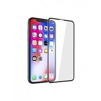 """5D juodas apsauginis grūdintas stiklas Apple iPhone XS Max / 11 Pro Max telefonui """"Full Glue"""""""