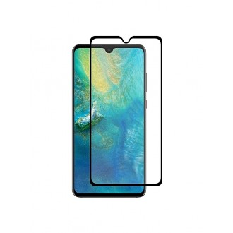 Apsauginis grūdintas stiklas ''5D Full Glue HQ Quality''   Huawei Mate 20 telefonui