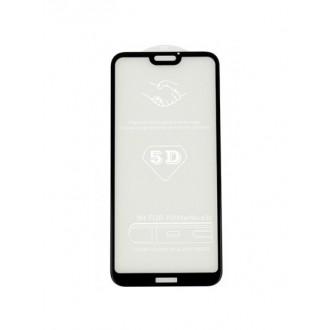 """5D Juodas apsauginis grūdintas stiklas Huawei P20 Lite telefonui """"Full Glue"""""""
