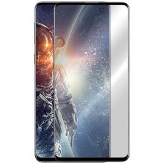 """5D juodas apsauginis grūdintas stiklas Samsung Galaxy G973 S10 telefonui """"Full Glue"""""""