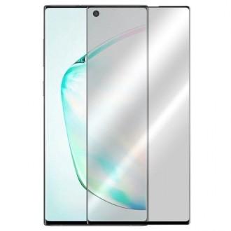 Apsauginis grūdintas stiklas ''5D Full Glue HQ Quality'' Samsung Galaxy N970 Note 10 telefonui (BE IŠPJOVIMO)