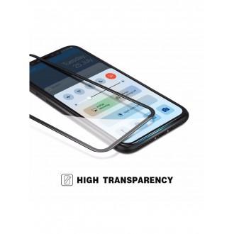 LCD apsauginis stikliukas 9D Full Glue Apple iPhone X / XS / 11 Pro telefonui