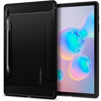 Juodas dėklas Samsung T860 / T865 Tab S6 ''SPIGEN RUGGED ARMOR''