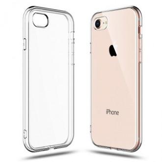 """Skaidrus silikoninis dėklas Apple Iphone 7 / 8 / SE 2020 telefonui """"FLEXAIR 1.8mm"""""""