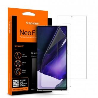 """Apsauginė ekrano plėvelė 2vnt """"SPIGEN NEO FLEX HD"""" Samsung Galaxy Note 20 Ultra telefonui"""