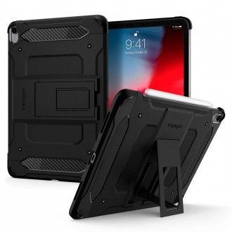 "Juodas dėklas iPad Pro 11 2018 telefonui ""Spigen Touch Armor Tech"""