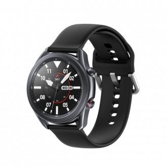 """Juoda apyrankė laikrodžiui Samsung Watch 3 (45MM) """"Tech-Protect Iconband"""""""