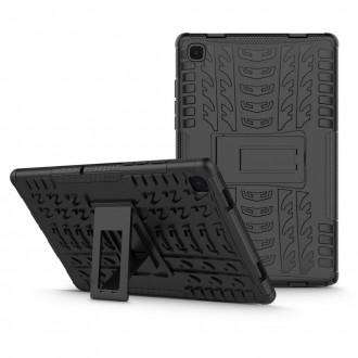 Juodas dėklas TECH-PROTECT ARMORLOK GALAXY TAB A7 10.4 T500/T505