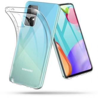 Skaidrus, silikoninis Tech - Protect dėklas Samsung Galaxy A72 telefonui