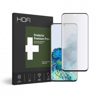 """Juodas Lankstus apsauginis stiklas Samsung Galaxy S20 telefonui """"Hofi Ultraflex"""""""