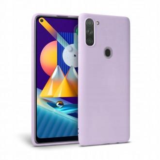 """Violetinis dėklas Samsung Galaxy M11 telefonui """"Tech-protect Icon"""""""