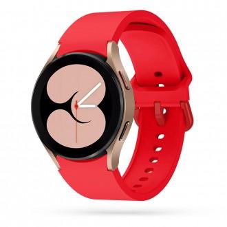 """Raudona apyrankė laikrodžiui Samsung Watch 4 (40/42/44/46 MM) """"Tech-Protect Iconband"""""""
