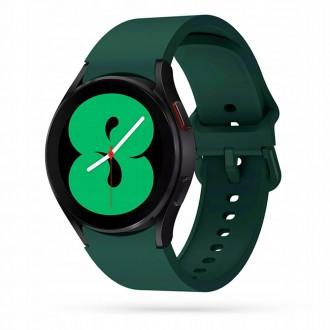 """Tamsiai žalia apyrankė laikrodžiui Samsung Watch 4 (40/42/44/46 MM) """"Tech-Protect Iconband"""""""