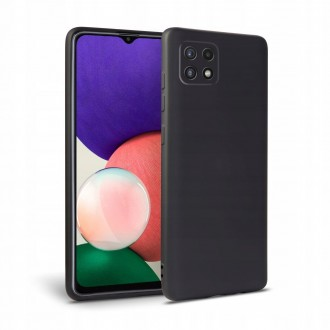 """Juodas TECH-PROTECT dėklas """"Icon"""" telefonui GALAXY A22 5G"""