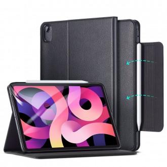 """Solidus, atverčiamas EKO odos dėklas """"ESR BUSINESS"""" skirtas iPad Air 4 2020. Juodas"""