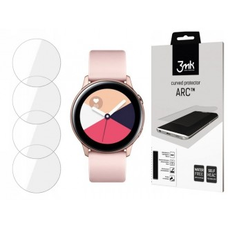 """Apsauginė plėvelė """"3MK Watch ARC"""" Samsung Watch Active laikrodžiui 3vnt"""